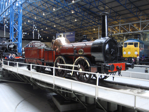 NRM turntable, York, by Phil Marsh