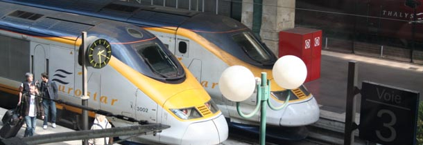 Eurostars at Gare de Nord