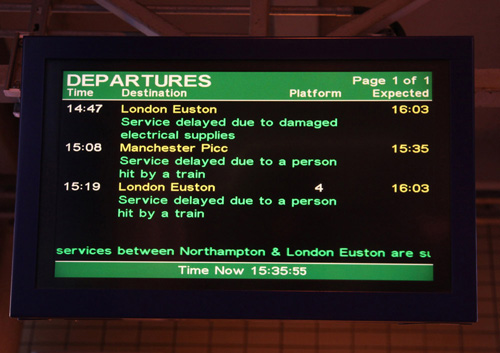 Delays, Milton Keynes, by Phil Marsh