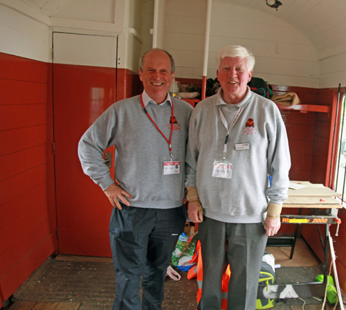 NRM Railfest volunteers