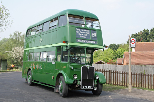 Epping Ongar re-opening bus link by Cliff Thomas