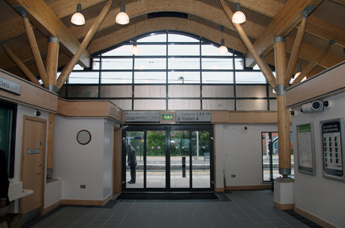 Wolverton station booking hall by Phil Marsh