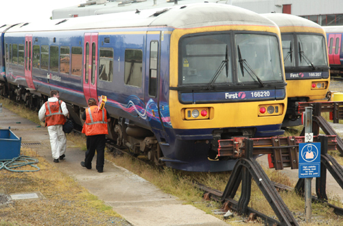 First great western trains at Reading by Phil Marsh