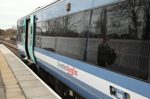Greater Anglia train by Phil Marsh at March