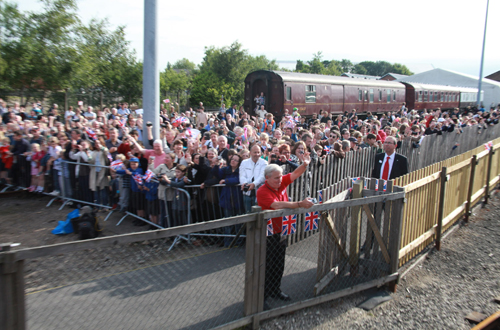 Crowds at York by Phil Marsh