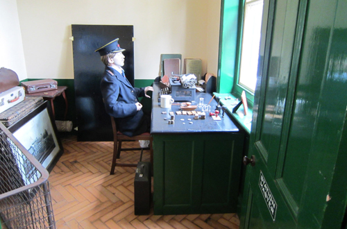 Titfield stationmaster by Phil Marsh