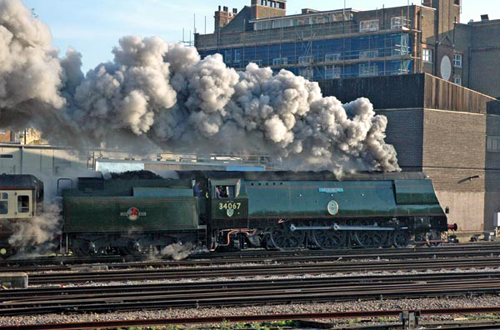 Battle of Britain Class No.34067 'Tangmere' by Paul Bickerdyke