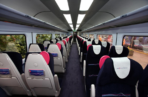 HST new standard carraige interior by FGW