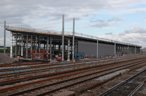 New FGW train depot at Reading by Phil Marsh