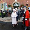 HM Queen at Hereford station by Jack Boskett photography