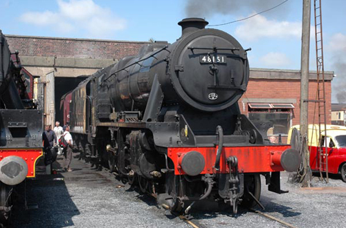 Ex-LMS 8F No.48151 by Paul Bickerdyke