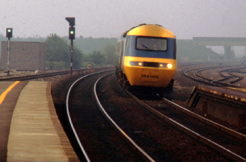 BR HST on ECML by Phil Marsh