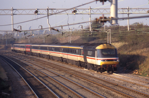 BR HST on WCML by Phil Marsh