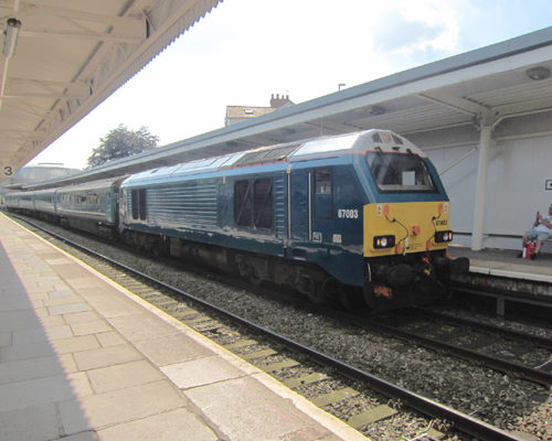 67003 on The Wag by Phil Marsh
