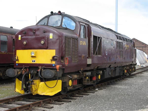 West Coast Class 37 No. 37676 'Loch Rannoch'. Paul Bickerdyke