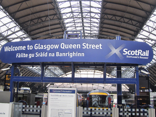first scotrail glasgow queen street by phil marsh