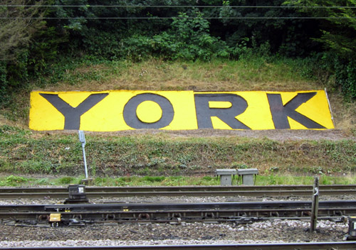 repainted york sign phil marsh