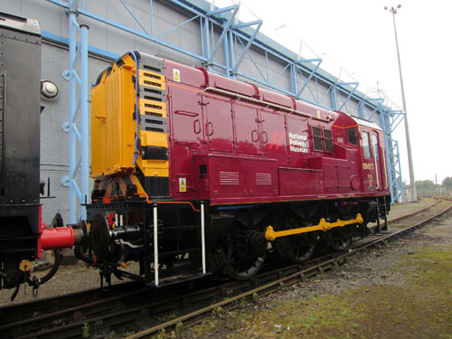 york nrm repainted shunter 09017 phil marsh
