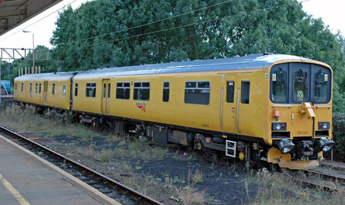 network rail dmu no. 950001. paul bickerdyke