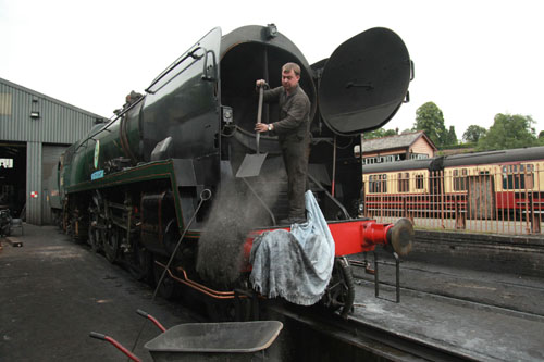 34053 at bridgnorth being disposed phil marsh