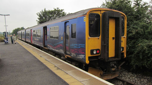 First Great Western class 150 at Severn Beach Station by Phil Marsh