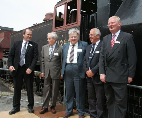 2009 Ivatt Trust hands over the engines by Phil Marsh