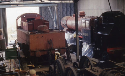 1997 Ivatts in a shed at Quainton by Phil Marsh