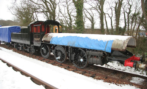 2010 46447 in the snow on Isle of Wight by Phil Marsh