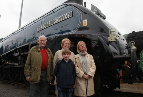 60007 the Boissier family who funded the purchase of Gresley by Phil Marsh