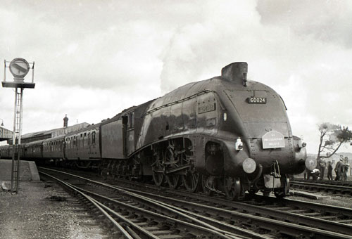 60024 at Maiden Newton 1966 Geoff Marsh