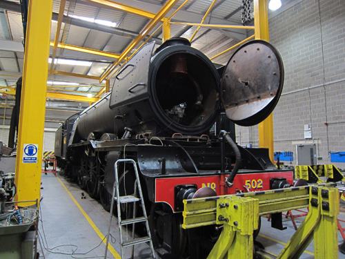 Flying scotsman in the NRM Works by Phil Marsh