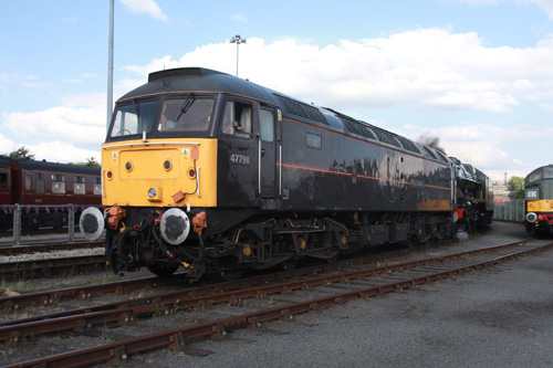 Royal 47798 at the NRM by Phil Marsh