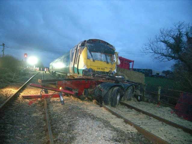 The derailment at Llanboidy from RAIB