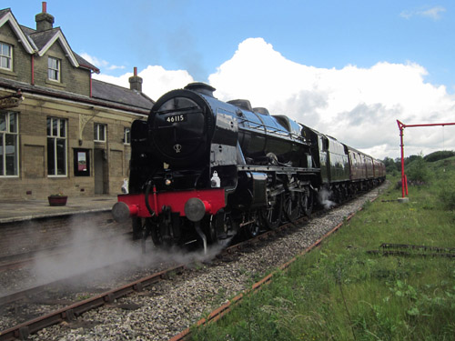 46115 at Hellifield. By Phil Marsh