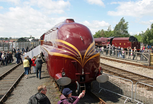 Railfest Duchess of Hamilton. By Cliff Thomas