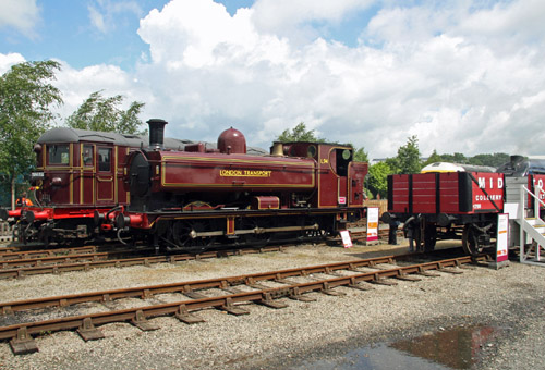 Railfest Pannier 7752 as L94. By Cliff Thomas