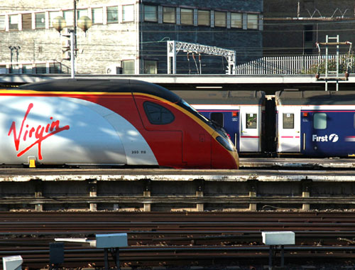 First and Virgin at Euston by Phil Marsh