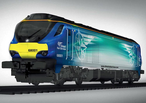 How the new Class 68 for DRS will look