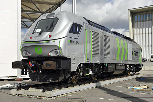 Vossloh's Eurolight loco from which the Class 68 has been derived