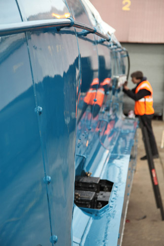 Painting 60019 blue. By Phil Marsh