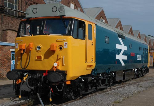 Preserved Class 50 No. 50026 'Indomitable'. By Paul Bickerdyke