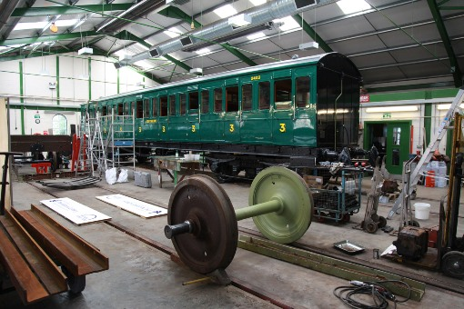 Havenstreet carriage workshops courtesy of Phil Marsh