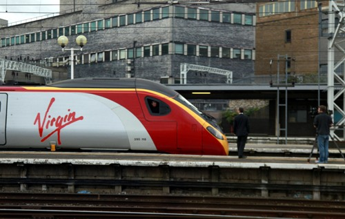 Virgin filming at Euston courtesy of Phil Marsh