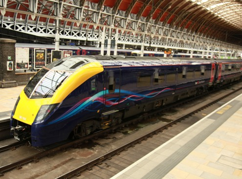 First refurbished Adelante at Paddington courtesy of Phil Marsh
