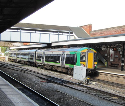 London Midland train at Worcester courtesy of Phil Marsh