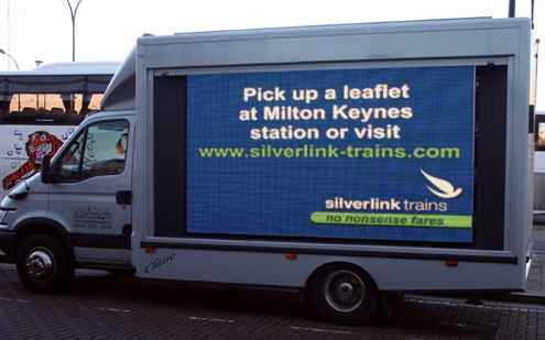Real advertising campaign by Silverlink courtesy of Phil Marsh