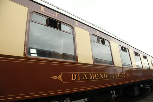 Diamond Jubilee at Railfest courtesy of Phil Marsh