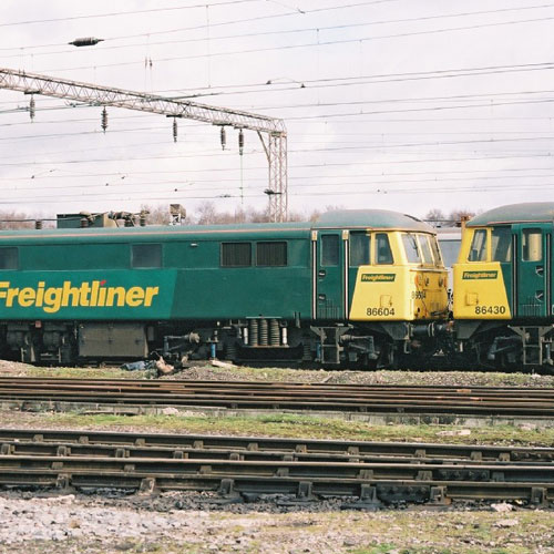 Class 86 Electric at Basford Hall