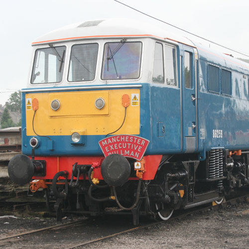 Class 86 Electric at Camforth