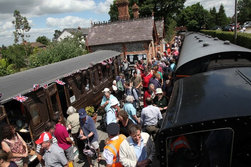 Chinnor railway centenary express courtesy of Phil Marsh